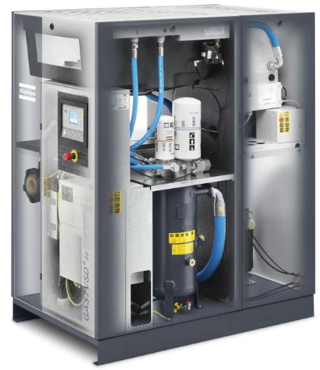 Roatary screw and oil free compressors